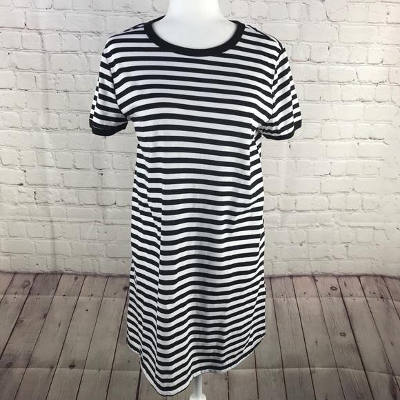 Divided Dresses & Skirts - NWOT Divided H&M Black & White Striped Shirt Dress